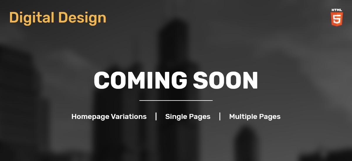 Digital Design Coming Soon